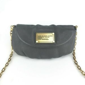 Marc by Marc Jacobs Classic Q Karlie Gray Leather